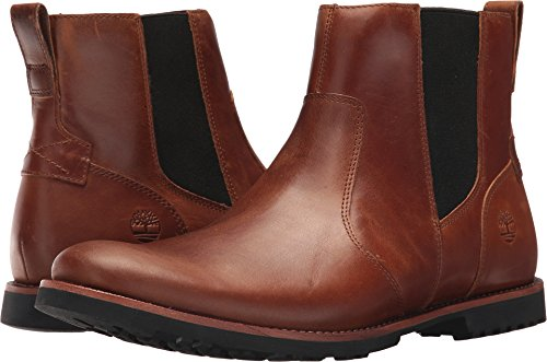 Timberland KENDRICK CHELSEA LT BRN mens boots TB0A1N1K-919_7.5 - Medium Brown Full Grain