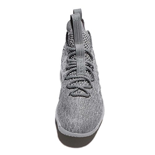 best service 72e4f dd240 NIKE Youth Lebron 15 Boys Basketball Shoes Wolf Grey/Cool Grey/Metallic  Gold 922811-005 Size 7