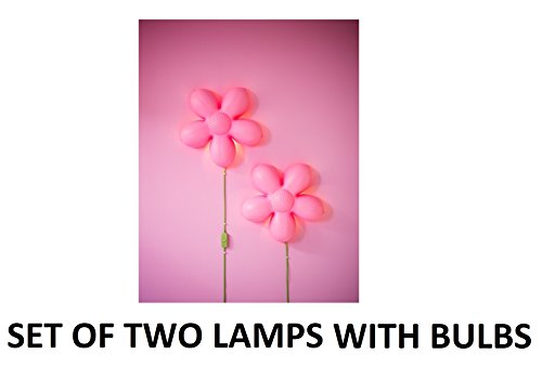 Ikea light pink flower wall lamp bundle includes two smila blomma ikea light pink flower wall lamp bundle includes two smila blomma wall lamps 13 aloadofball Images