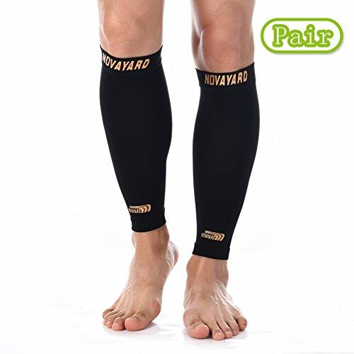 2a481482082972 Calf Compression Sleeve 1 Pair, Leg Compression Socks for Men and Women (  20-