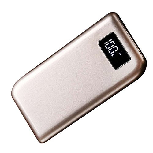Baoblaze DIY Wireless Charger Power Bank Kit Mobile Power Case Portable  Quick Charger for iPhone X Galaxy Note 8 S8 S9 And More - Gold