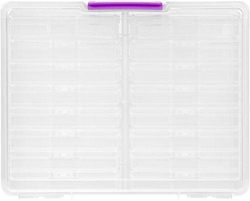 Iris Extra Large 4 X 6 Photo And Craft Keeper Clear 2 Pack