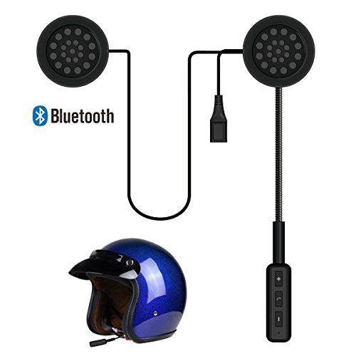 Baile Motorcycle Helmet Headset, Bluetooth Headset,Wireless Helmet Heaphones Communication Systems for Motorbike(Black)