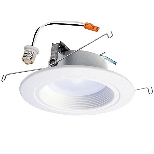 "Halo RL56069BLE40AWH RL Smart Bluetooth LED Downlight, 5"" and 6"", White"
