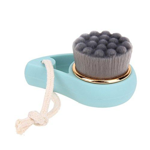Soft Bamboo Charcoal Facial Cleansing Brush Face Washing Cleansers Deep Pore Female Skin Care Cleaning Tool (Massage Point)