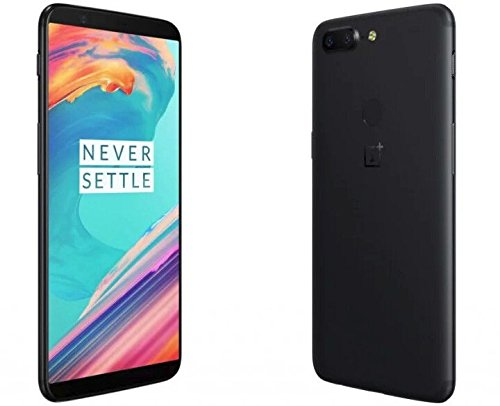 "OnePlus 5T A5010 64GB Midnight Black, Dual Sim, 6.01"", 6GB RAM, GSM Unlocked International Model, No Warranty"