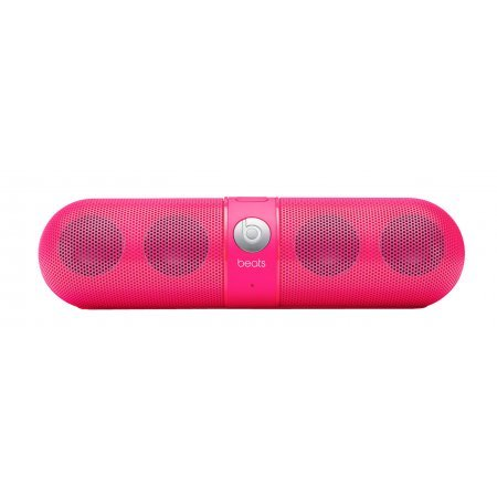 Beats by Dr. Dre Pill Portable Speaker (Neon Pink) Bundle with Beats USB Cable (Type A To Micro B), Beats 3.5mm Jack Cable and Custom Designed Zorro Sounds Cleaning Cloth