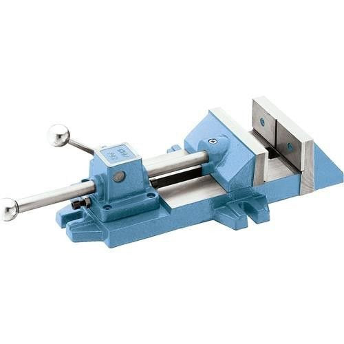 "ESKALEX>>4"" QUICK RELEASE METAL STEEL VISE FOR DRILL PRESS DRILLING MILLING MACHINE TOOL And Nothing speeds up production like a Quick Release Vise. Simple push rod and cam lever action securely lock"