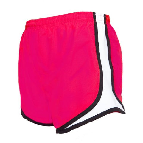 Touch of Europe Shorts Girls Jersey Side Stripe Sport Velocity Shorts