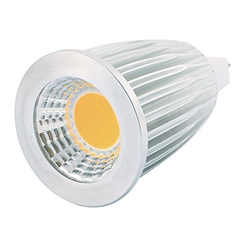 DealMux AC85-265V 7W GU5.3 COB LED Spotlight Lamp Bulb Energy Saving Downlight Warm White