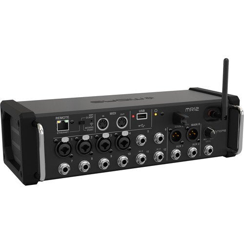 Midas MR12 12-Input Digital Mixer for iPad/Android Tablets
