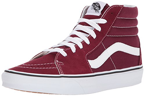 Vans SK8 Hi Burgundy True White Shoes Men/Women Sneakers Unisex (4.0 Men/5.5 Women)