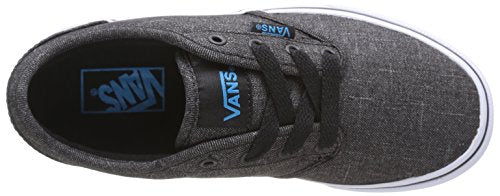 bb16ac232c465e Vans Boy s Atwood (Textile) Black Hawaiian Ocean Skateboarding Shoes (US ...