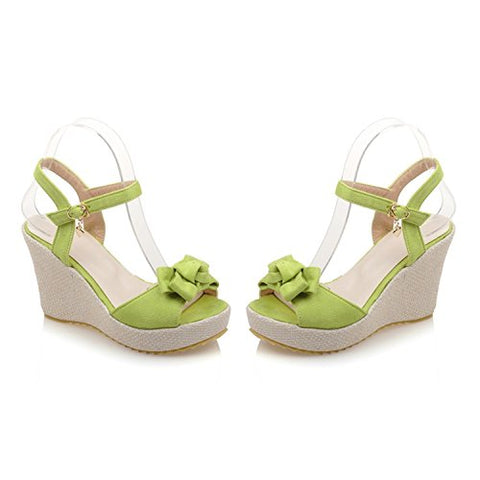 WalterTi White Shoes Flat Heel Flip Gladiator Brief Herringbone Flip-flop Sandals Flat Women's Shoes Green 12