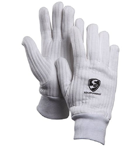 wonder wagon SG Tournament Inner Gloves for Wicket Keeping Mens Size