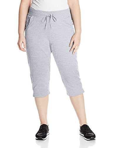Just My Size Women's French Terry Capri
