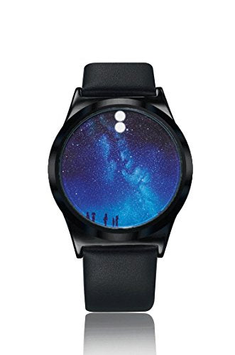 ZRD Star Smart Touch Screen Watch Student Watches Couple Watches (pattern random delivery) (Black)