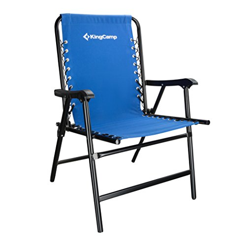 Patio Furniture For Over 300 Lbs.Kingcamp Camping Chair Folding Lawn Sports Suspension Backrest Chair Patio Lounge Backyard Chair Fishing Chair 9 4lbs Portable Chair Weight Capacity