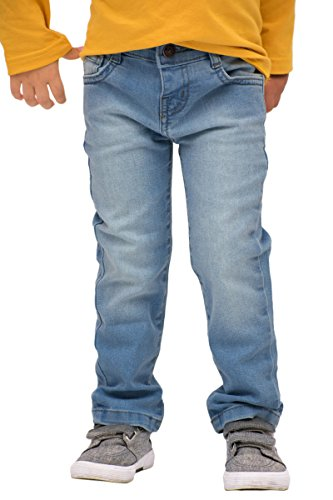Pulla Bulla Toddler Boy Premium Jeans Denim Pants Size 4T Medium Wash