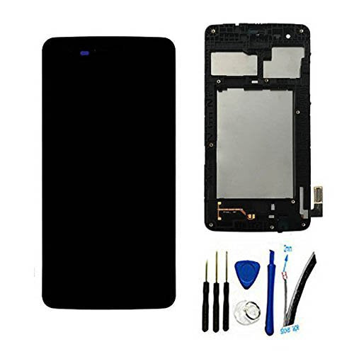 "Full LCD Display Screen digitizer Touch panel For LG M210 MS210 Aristo LV3 K8 2017 5.0"" replacement Assembly With Frame /Bezel Black"