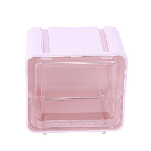 Whitelotous Washi Tape Dispenser Tape Cutter Roll Tape Holder Stationery Storage Organizer Office Supplies(Pink)