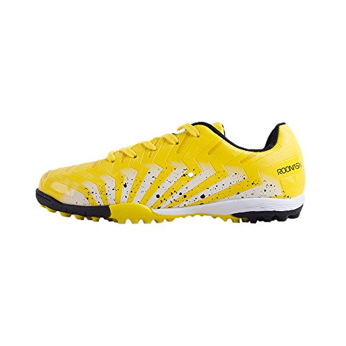 ROONASN Kids  Outdoor Indoor Soccer Shoes Football Training Cleat Shoes (12  D( 825cc4101