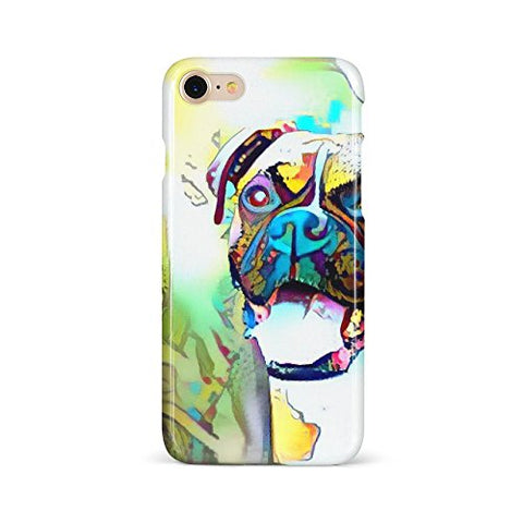 Westlake Art - Boxer Breed - Phone Case Cover - Snap On Slim Fit Protector Modern Abstract Artwork Birthday Gift - iPhone 7/8 (A651-73997)