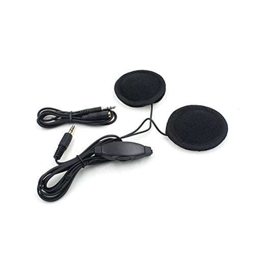 WINOMO Motorcycle Helmet Headphone Headset Bicycle Motorbike Mp3 Speaker 3.5mm with Volume