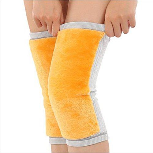 22554fe067 NACOLA 1Pair Women Men Elastic Warm Knees Brace Knee Compression Sleeves  Knee Support For Joint Pain