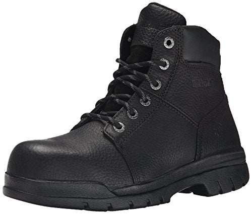 36ebadc54cf Wolverine Men's Marquette Rubber Safety Toe 6 Inch Work Boot,Black,8 M US