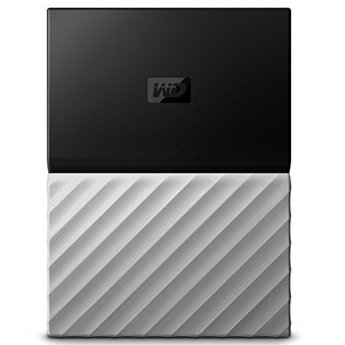 Western Digital 4TB My Passport Ultra Portable External Hard Drive - USB 3.0 - Black-Gray - WDBFKT0040BGY-WESN