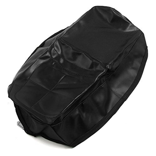 DealMux 84cm x 55cm Faux Leather Heat Insulation Motorcycle Seat Cover Protector for WH125