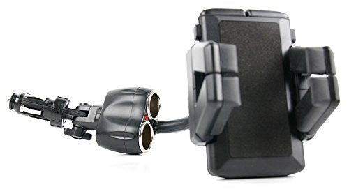 DURAGADGET Non-Shake Cigarette Lighter Holder Mount - Compatible with  Generic 7