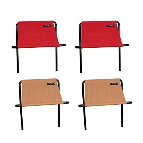 Leewos Durable Folding Canvas Chairs Steel Frame Portable Foldable Chair  Indoor Outdoor Picnic Fishing Dining Camp