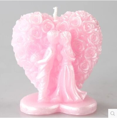 Wedding bride and groom candle molds,sugar craft tools,chocolate moulds,bakeware, rose heart silicone mold soap,candle moulds,