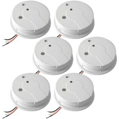 Inter Connectable Smoke Alarm with Battery Backup