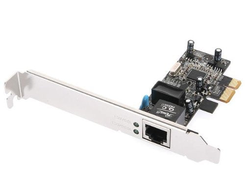 Rosewill 10/100/1000Mbps Gigabit PCI Express, PCIE Network Adapter / Network Card / Ethernet Card , Win10 supported (RC-411v3)