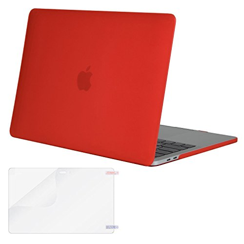 pretty nice ef9a7 b4f19 Mosiso MacBook Pro 15 Case 2017 & 2016 Release A1707, Plastic Hard Case  Shell Cover with Screen Protector for Newest Macbook Pro 15 Inch with Touch  ...