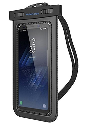 size 40 92102 149e2 Universal Waterproof Case, JOTO CellPhone Dry Bag Phone Pouch for iPhone  8/7/7 Plus/6S/6/6S Plus/SE/5S, Samsung Galaxy S8/S8 Plus/Note 8 6 5 4,  Google ...