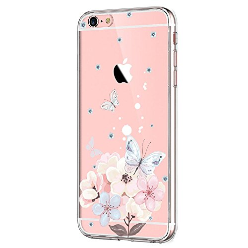 Qissy Iphone 6s Plus Case Iphone 6 Plus Case Hd Cats Flower Love