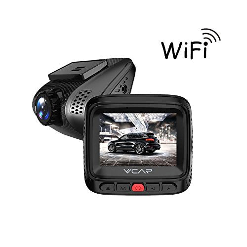 HD Car Dash Cam Wifi Vehicle Dashboard Camera Car DVR On Dash Video  Recorder Full HD 1080P with Sony Exmor Sensor, 2