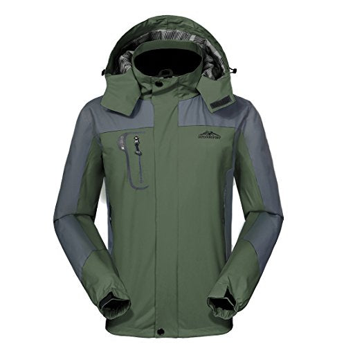 GIVBRO Waterproof Jacket Mens Raincoats New Design Outdoor Hooded Lightweight Softshell Hiking Windproof Rain Jackets
