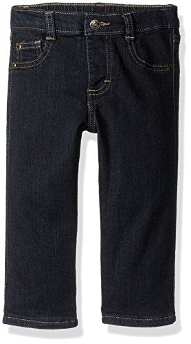 Wrangler Authentics Boys' 5-Pocket Jean, Dark Alloy, 18M