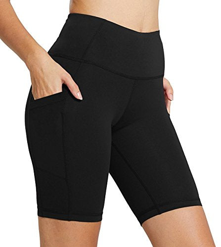 FIRM ABS Womens Cycling Running Workout Tights Yoga Shorts Half Tights With Pockets