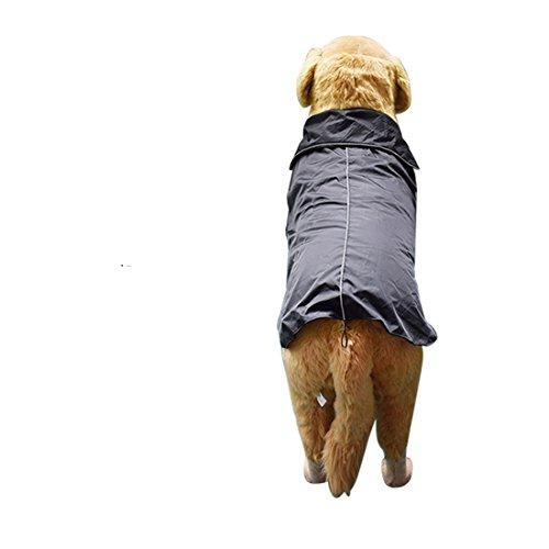 5xl Size Waterproof Dog Raincoats For Extra Large Dogs Clothes For