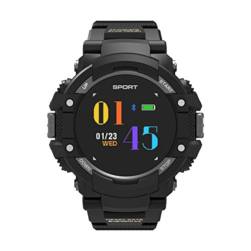 DTNO.I Smart Watch IP67 Waterproof Smart watch Wearable Devices Multifunction Bracelet Compatible with Android iOS