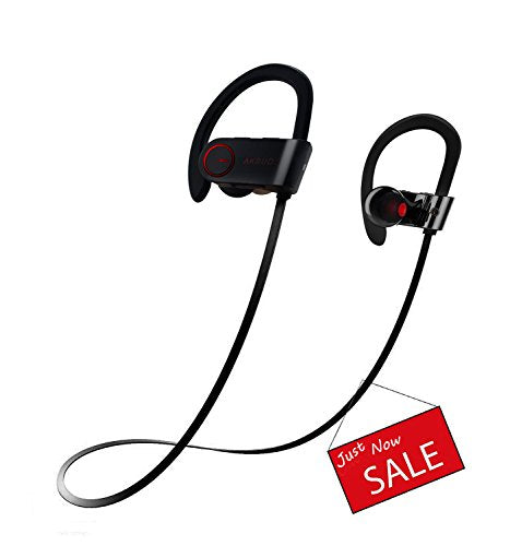 Bluetooth Earbuds, Arkey Best Wiless Sweatproof Sports Hd Stereo Beats  Sound Quality Bluetooth Headphones /Headset With Ear hook, Noise Cancelling  In