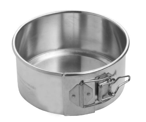 Focus Foodservice Commercial Bakeware Aluminum Springform Pan, 6-Inch