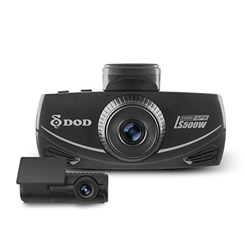 NEW 2017 DOD LS500W 2-Channel 1080P Dash Cam, Sony Starvis, G sensor, Large  f/1 6 Lens,145° Ultra Wide Angle, Super Night Vision, Parking