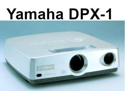 yamaha dpx-1 Digital Cinema Home Theater DLP Movie Projector and Business Presentation. Lamp included
